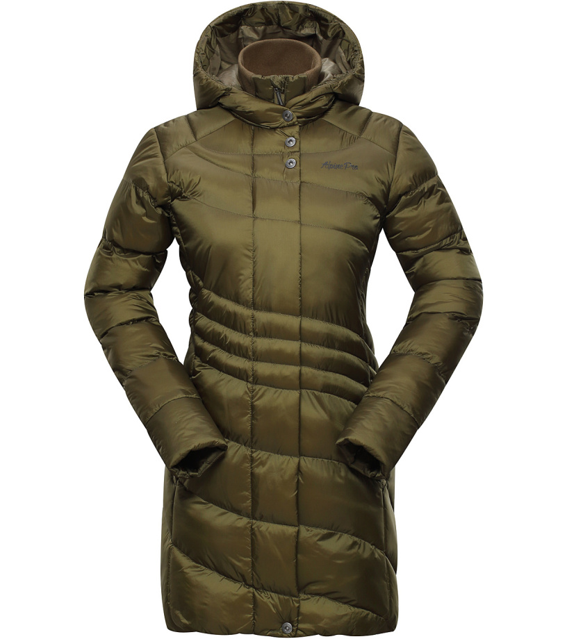 ALPINE PRO OMEGA 2 Dámský kabát LCTH025116 nutria XS