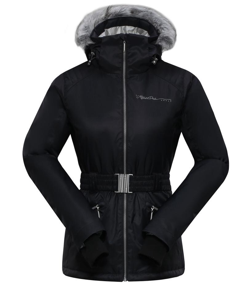 ALPINE PRO MEMKA Dámská bunda LJCH091990 černá