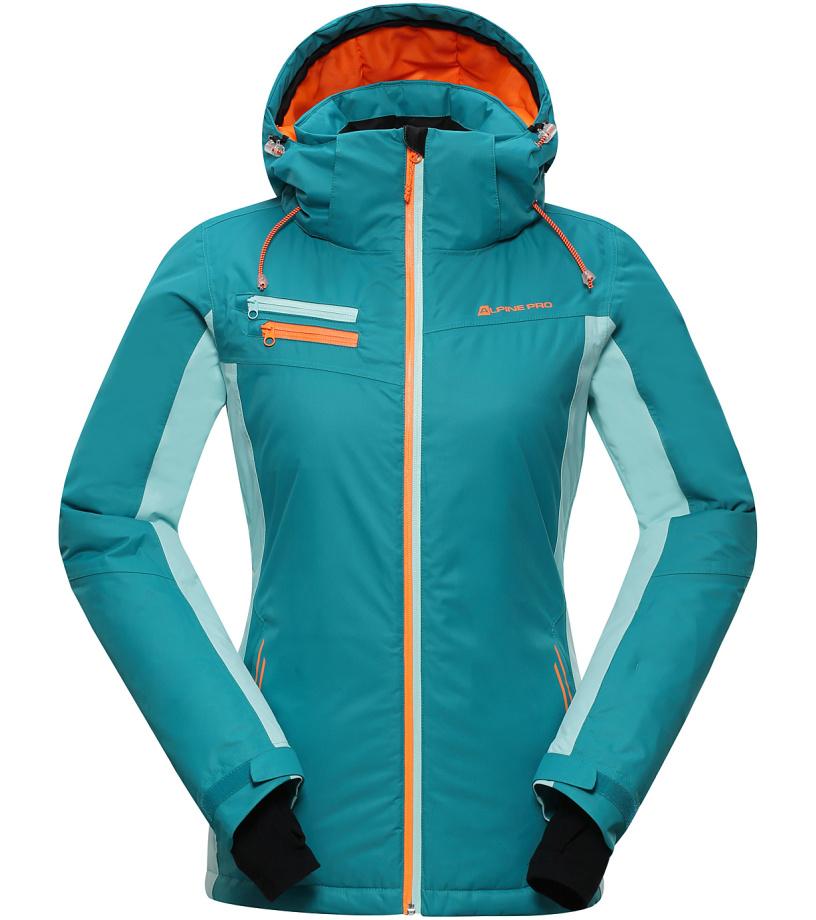 ALPINE PRO BAUDOUINA Dámská lyžařská bunda LJCH129598 navigate M