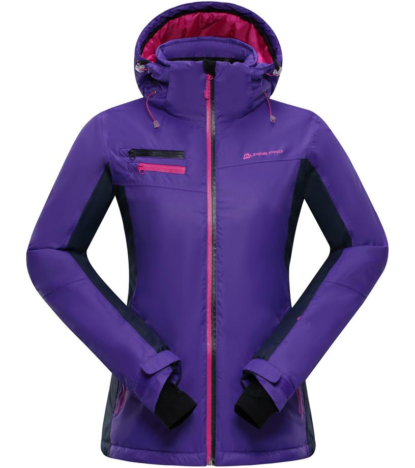 ALPINE PRO BAUDOUINA Dámská lyžařská bunda LJCH129888 liberty XXL