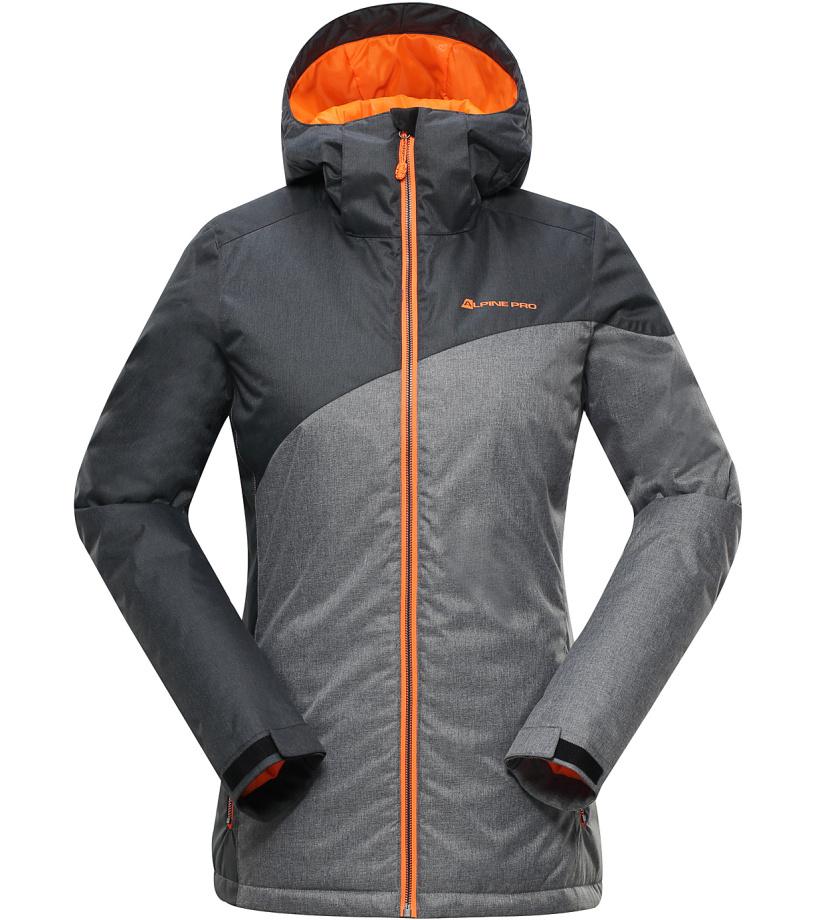 ALPINE PRO ALEDA Dámská lyžařská bunda LJCH132990 černá XS