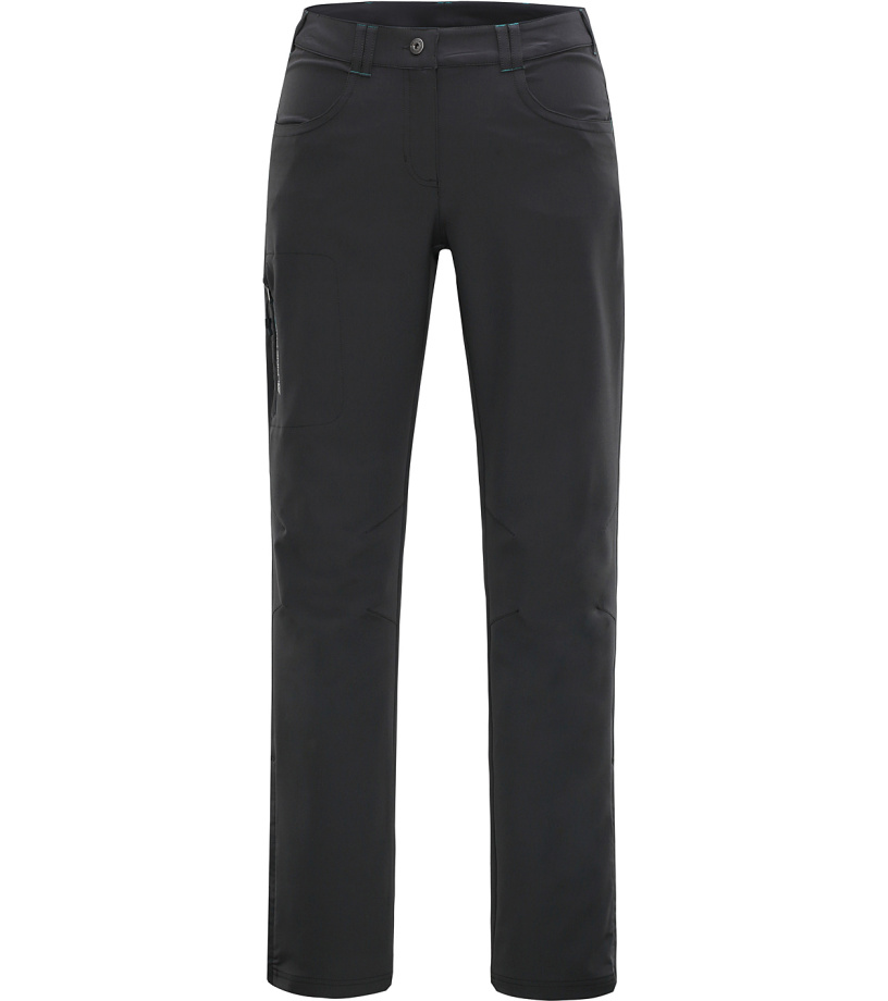 ALPINE PRO JOLE Dámské softshellové kalhoty LPAH062779 tmavě šedá 40