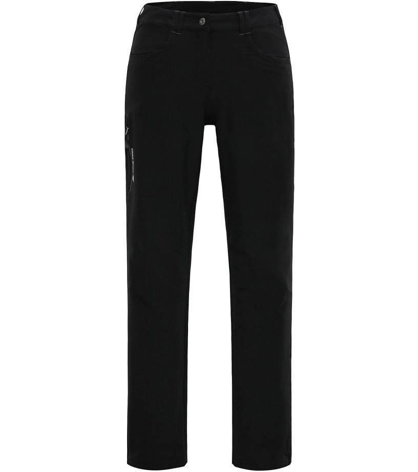 ALPINE PRO JOLE Dámské softshellové kalhoty LPAH062990 černá 42