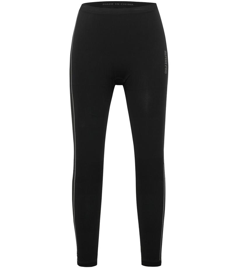 ALPINE PRO KRATHISA Dámské spodní kalhoty LUNH016990 černá XL-XXL