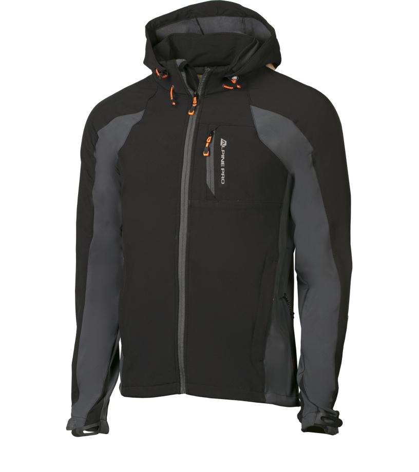 ALPINE PRO MONTROSE 3 Pánská bunda MJCH152990 černá L
