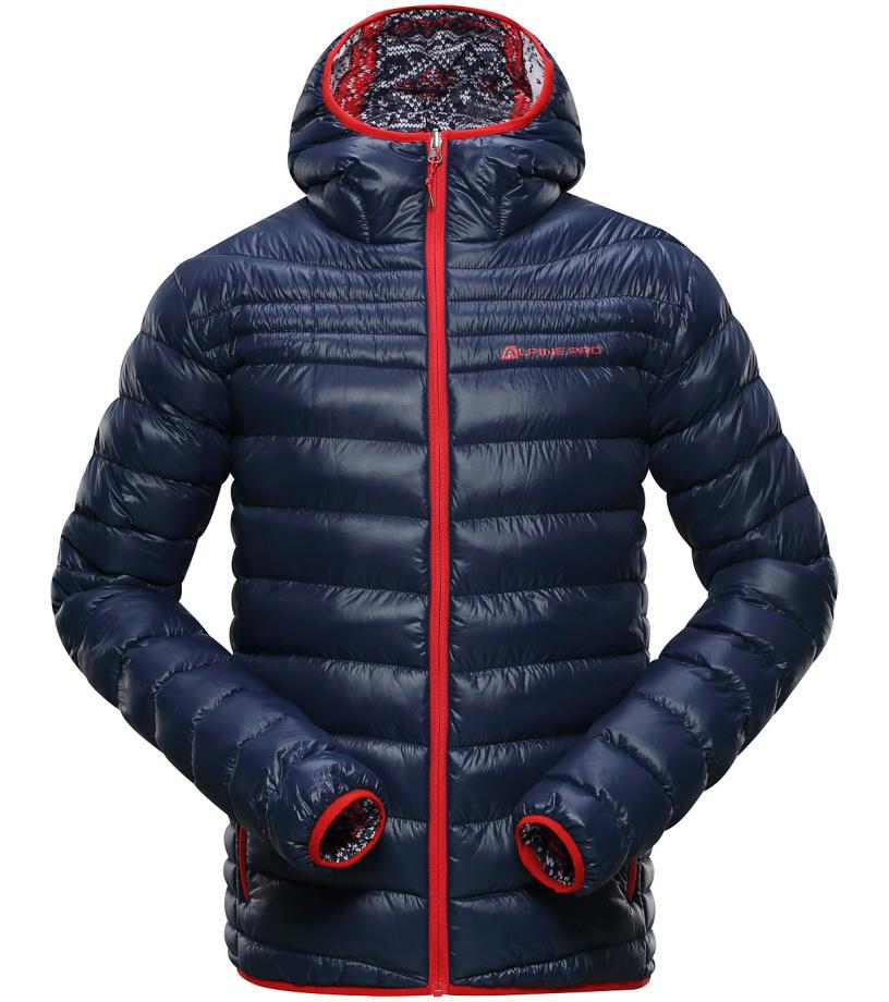 ALPINE PRO MUNSR 2 Pánská zimní bunda MJCH156602PA mood indigo XL