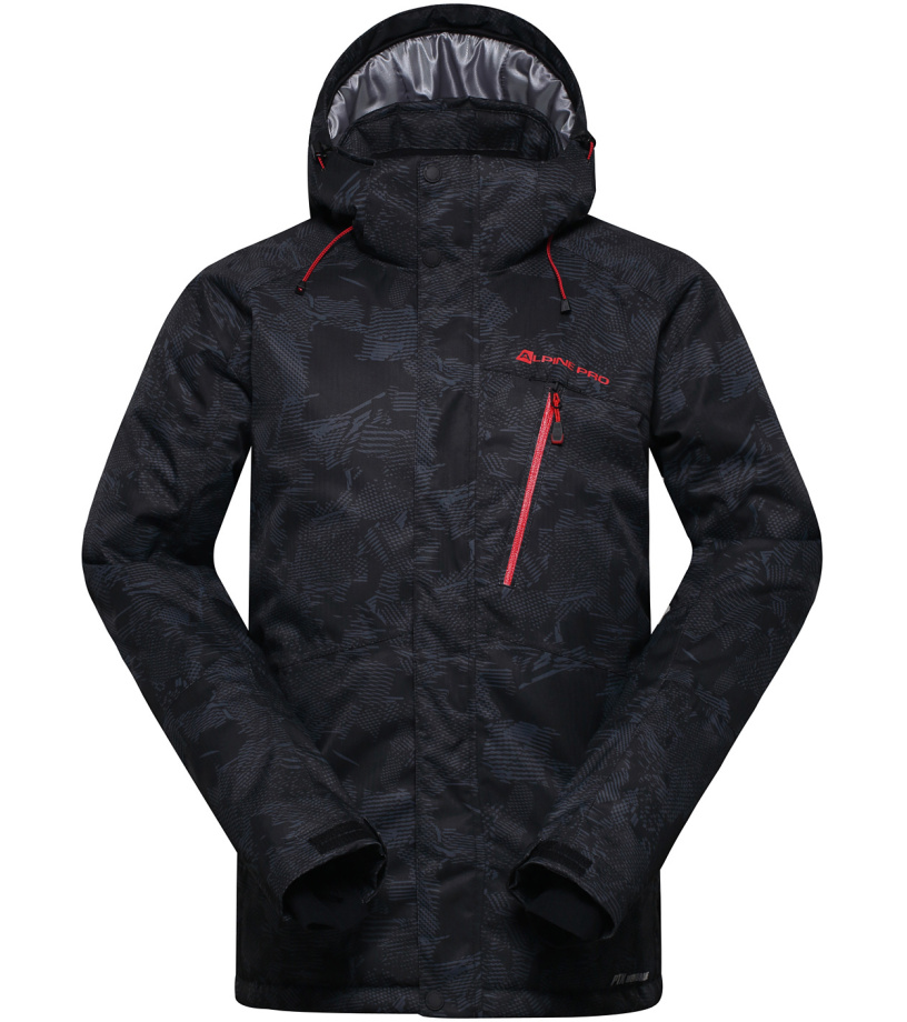 ALPINE PRO GLARNISCH 2 Pánská bunda MJCH161990 černá XS