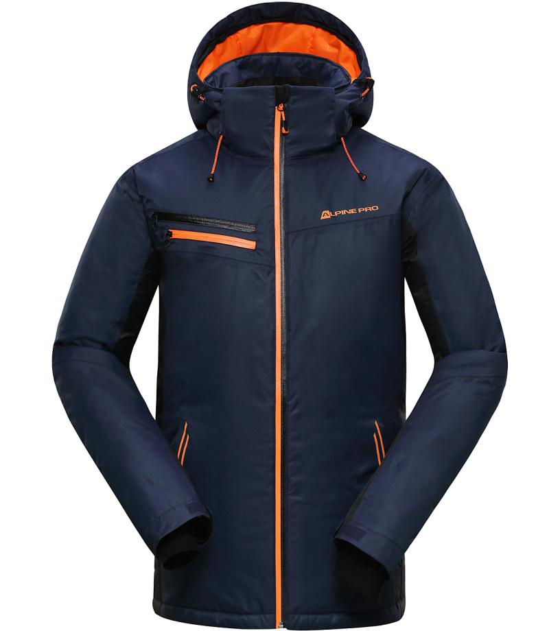 ALPINE PRO BAUDOUIN Pánská lyžařská bunda MJCH162602 mood indigo M