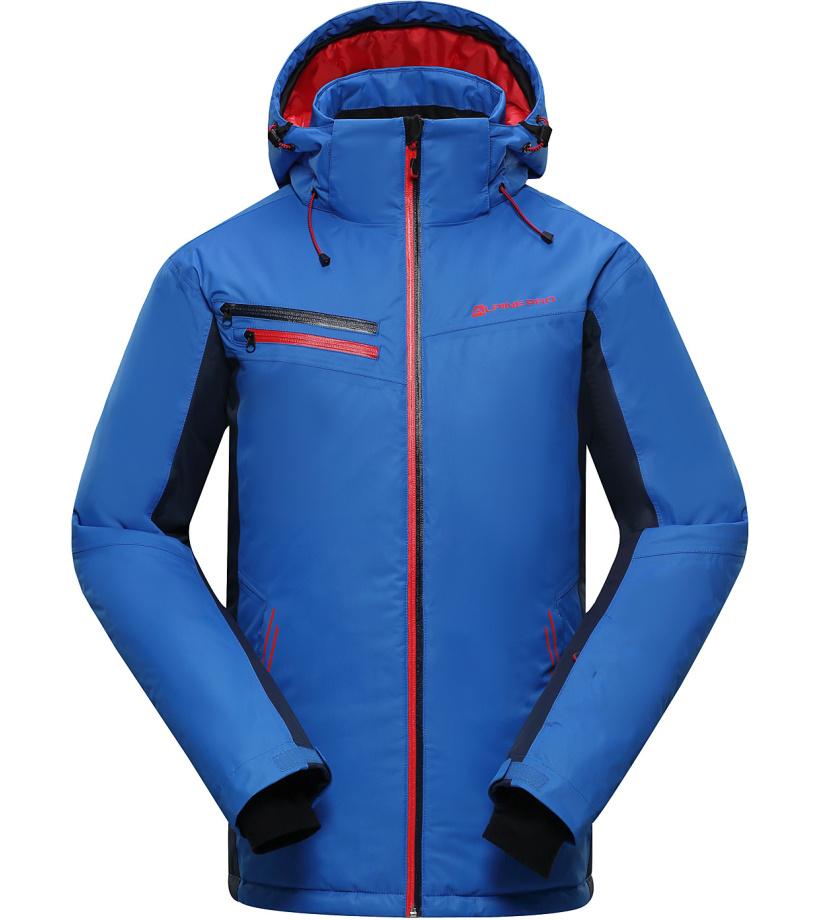 ALPINE PRO BAUDOUIN Pánská lyžařská bunda MJCH162653 cobalt blue M