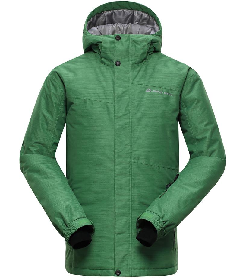 ALPINE PRO CALLISTO 4 Pánská lyžařská bunda MJCH163528 zelená S
