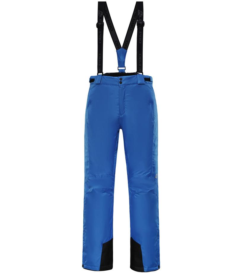 ALPINE PRO SANGO 3 Pánské lyžařské kalhoty MPAH157653 cobalt blue