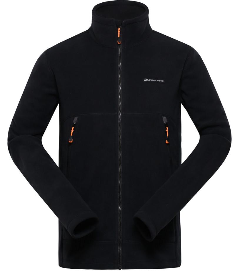 ALPINE PRO LAVAREDO 3 Pánská mikina MSWH073990 černá S