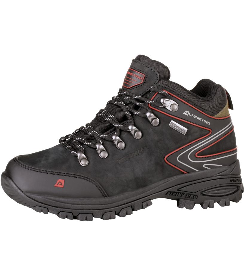 ALPINE PRO WINDIGO 2 Uni outdoorová obuv UBTH021990 černá 36
