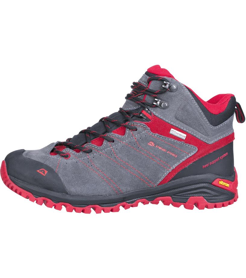 ALPINE PRO TRIGLAV MID Uni outdoorová obuv UBTH033475 purpurový plamen 37
