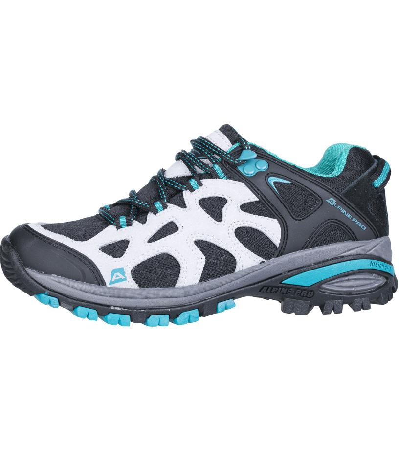 ALPINE PRO ALCOTT Uni outdoorová obuv UBTH103771 světle šedá