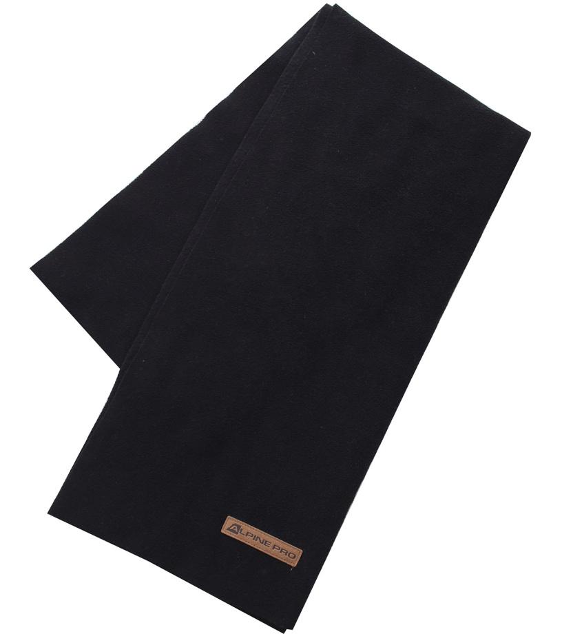 ALPINE PRO ADLO Unisex šál USFH017990 černá UNI