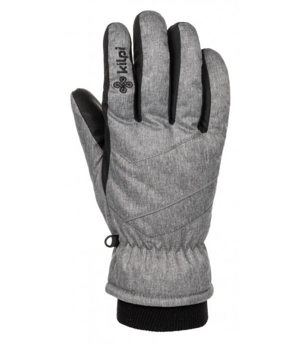 KILPI Unisex lyžařské rukavice TATA-U LU0009KILGY Šedá M