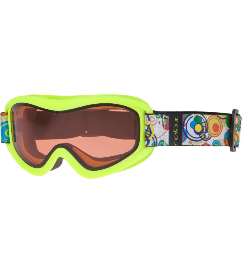 RELAX TEDDY Lyžařské brýle HTG33F žlutá -