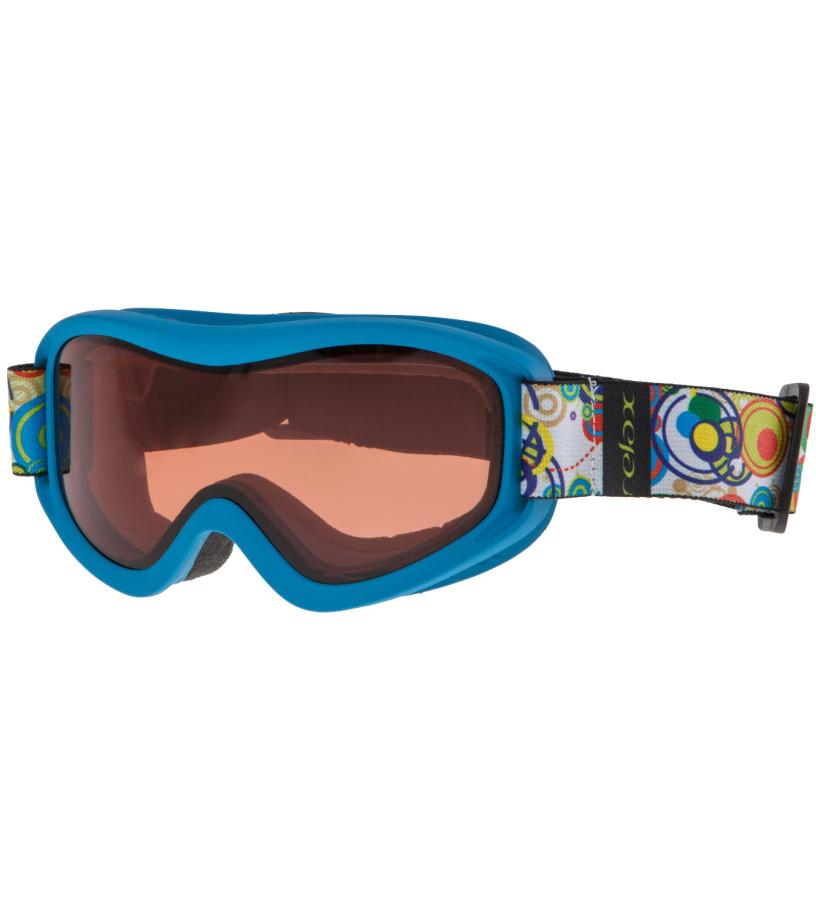 RELAX TEDDY Lyžařské brýle HTG33H modrá -