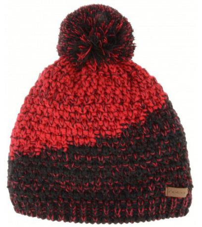 RELAX CATRINA Dětská zimní čepice RKH136B červená