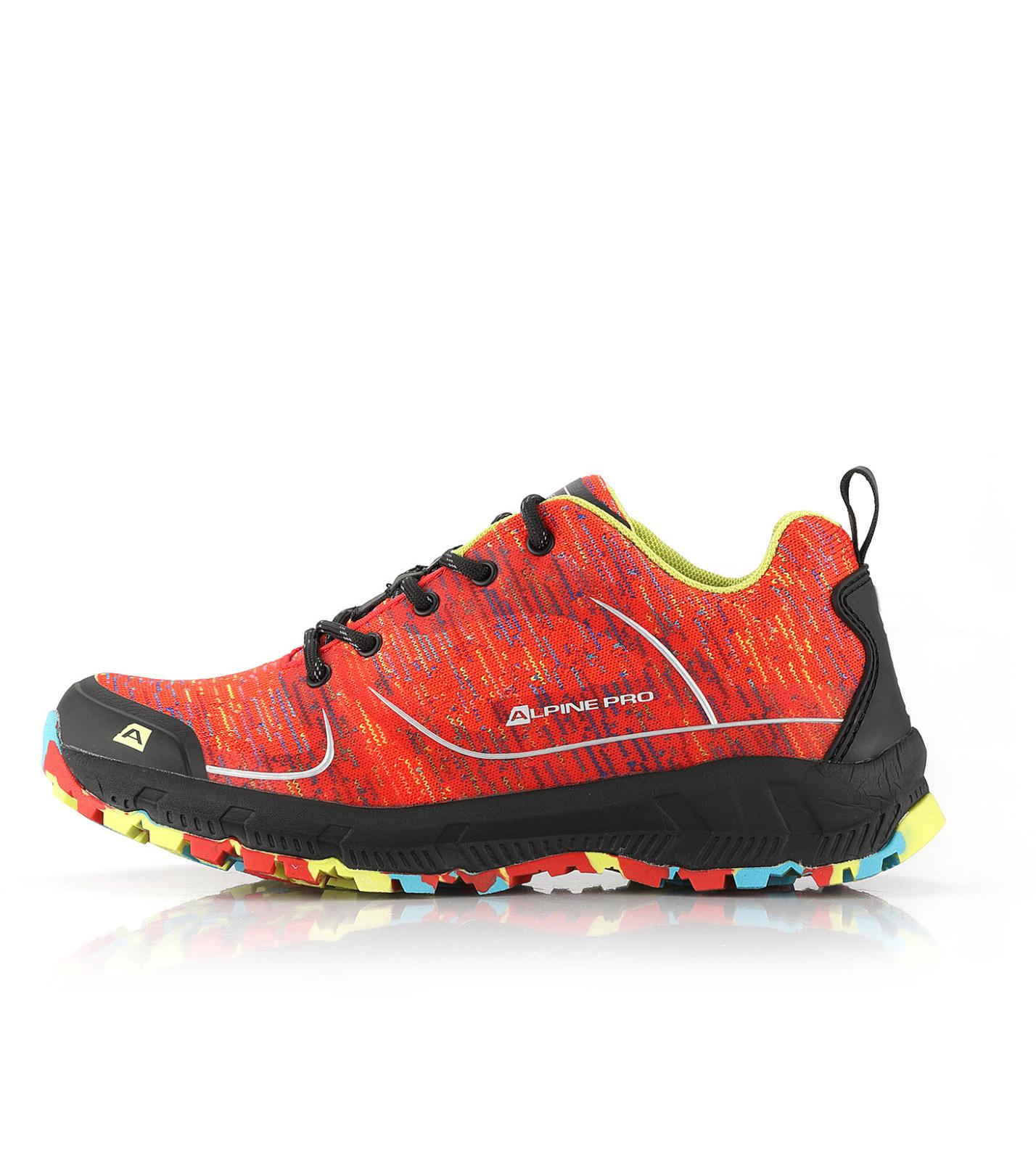 ALPINE PRO LARIA Dámská outdoorová obuv LBTR229324 ostře oranžová 36