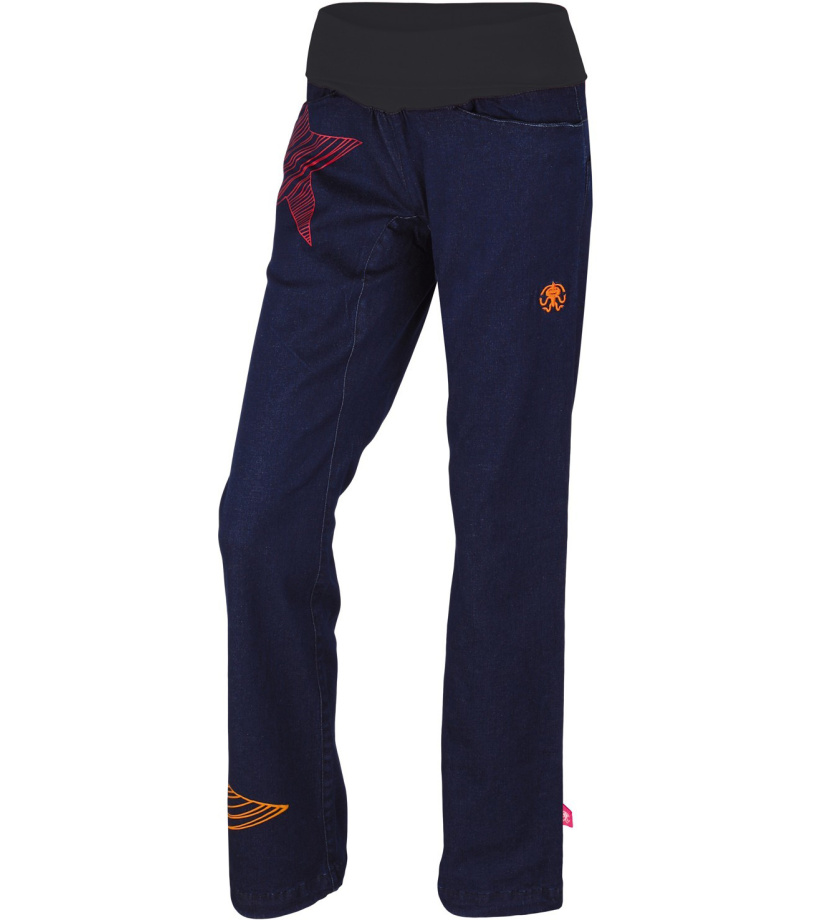 Rafiki Etnia jeans Dámské kalhoty 117RF0027LP02 Night denim 34