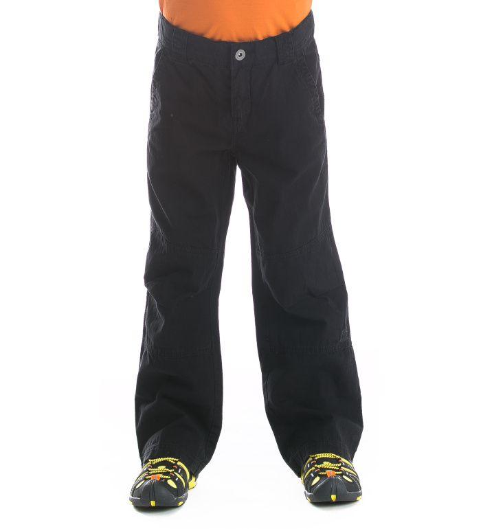 ALPINE PRO Salado Dětské kalhoty KPAE019990 černá 116-122