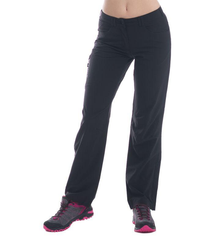 ALPINE PRO Amelie Dámské softshell kalhoty LPAE064990 černá 36