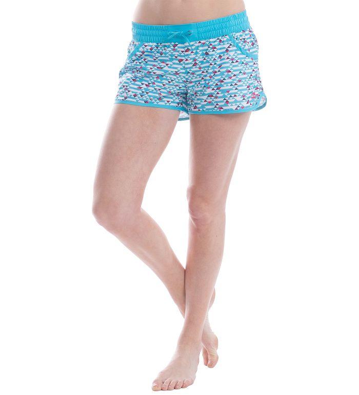 ALPINE PRO CLEOFA Dámské šortky LPAE082622 tyrkysová