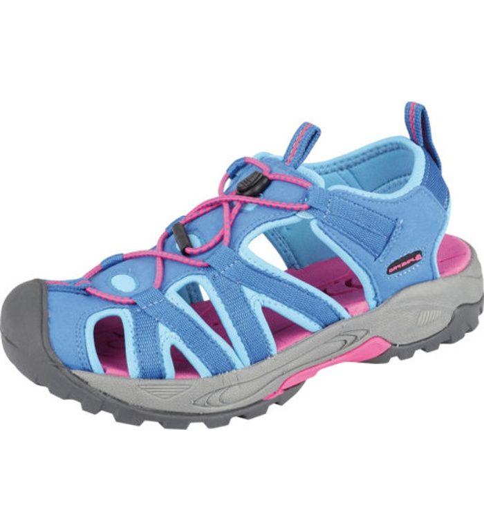 ALPINE PRO LANCASTER Uni letní obuv UBTE008622 tyrkysová 36
