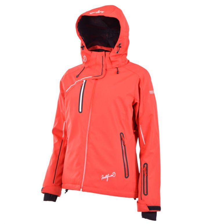 NORTHFINDER AUDRIANA Dámská lyžařská bunda BU-4211ASII313 zářivá červená S