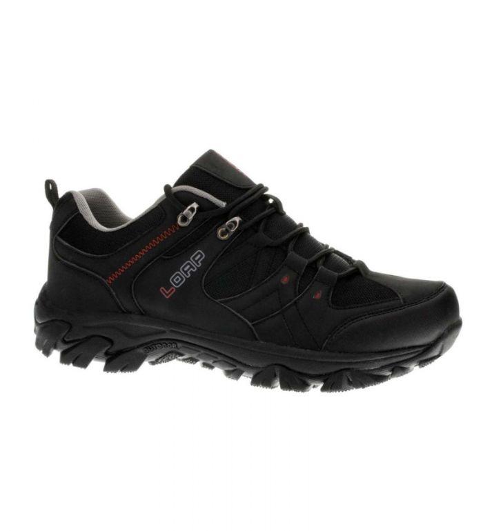 LOAP COST Dámské outdoorové boty HSU1537V11G černá/tomato 44