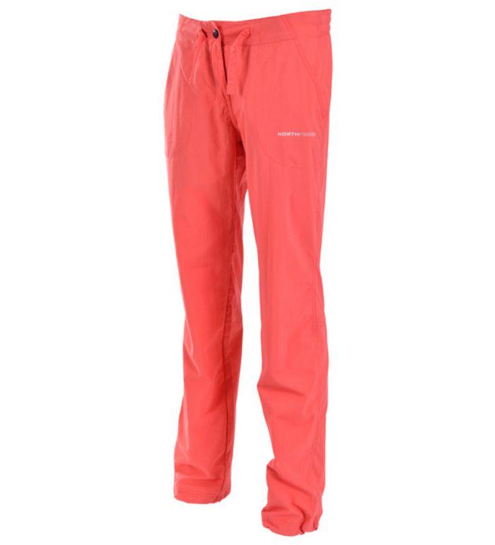 NORTHFINDER HADLEY Dámské kalhoty NO-4139OR360 červená M