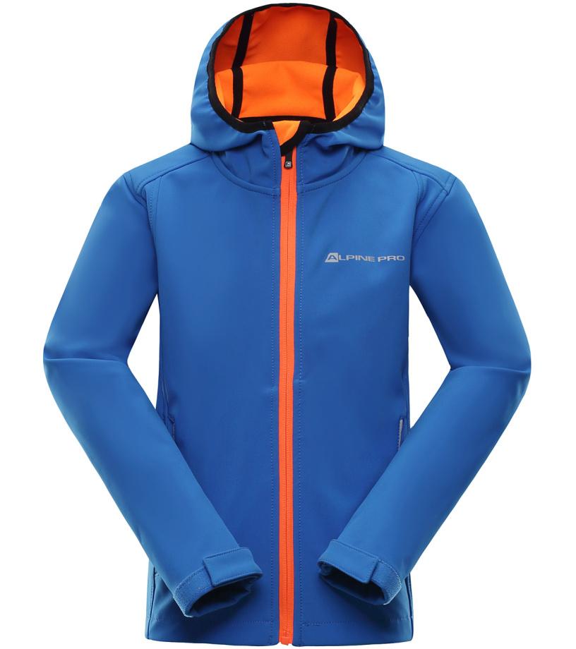 ALPINE PRO LODALO Dětská softshellová bunda KJCJ012653 cobalt blue 104-110