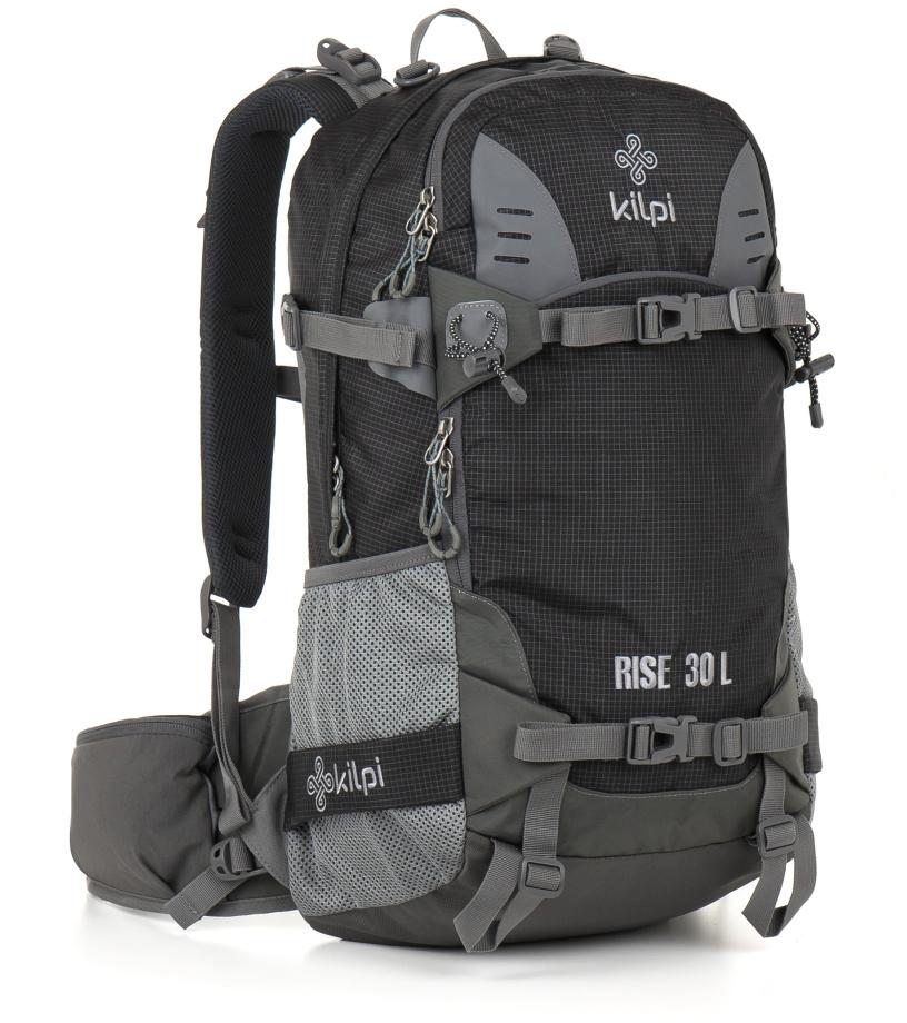 KILPI Freeridový/skialpový batoh 30L RISE GU0014KIBLK Černá 30l