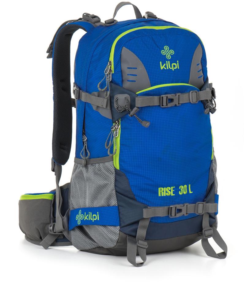 KILPI Freeridový/skialpový batoh 30L RISE GU0014KIBLU Modrá 30l