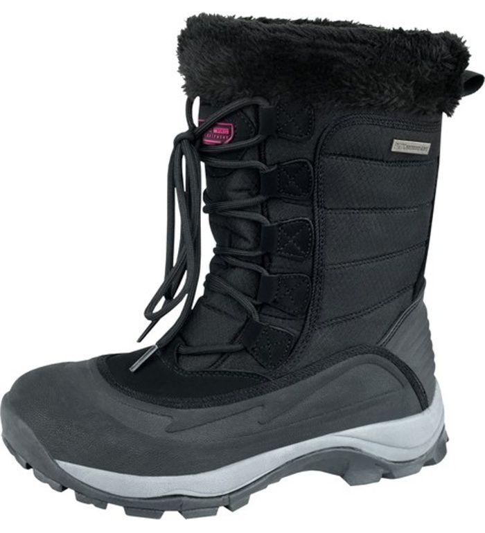 ALPINE PRO NORTH WIND WM Dámská zimní obuv LBTD005990 černá 40