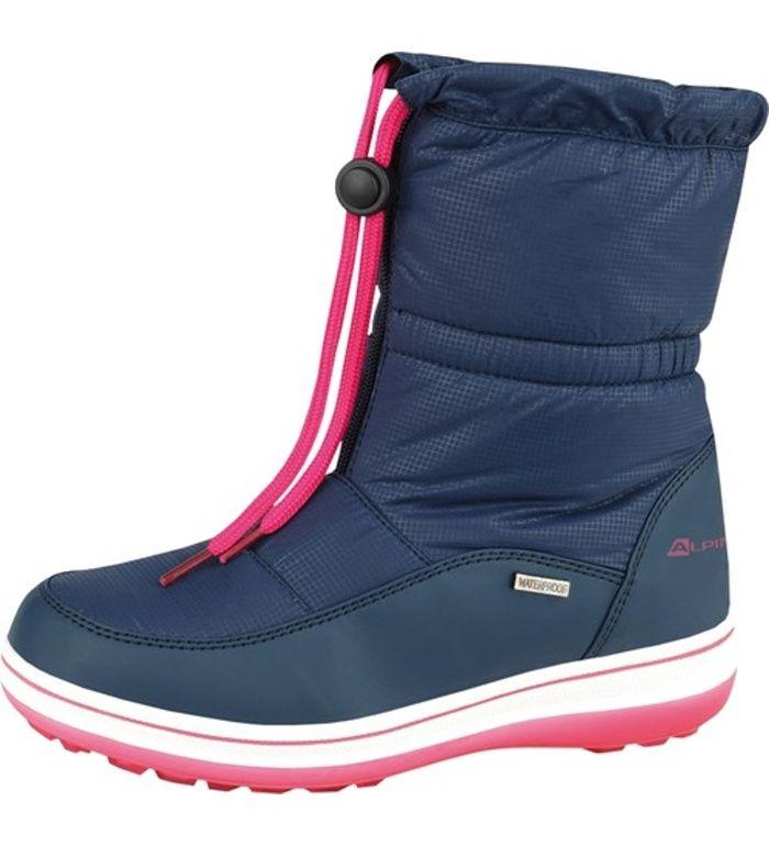 ALPINE PRO FEBBAS Dámská zimní obuv LBTD084691 námořnická modř 39