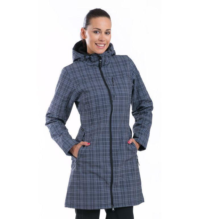 ALPINE PRO ASHERAH Dámský kabát LCTD003990PB černá XS