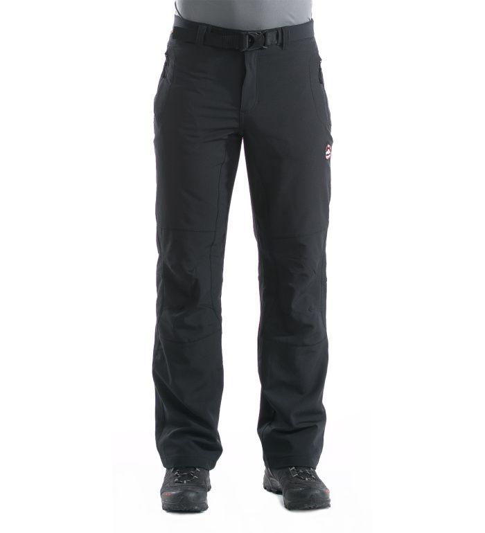 ALPINE PRO CARB II Pánské zateplené softshell kalhoty MPAD051990 černá 52