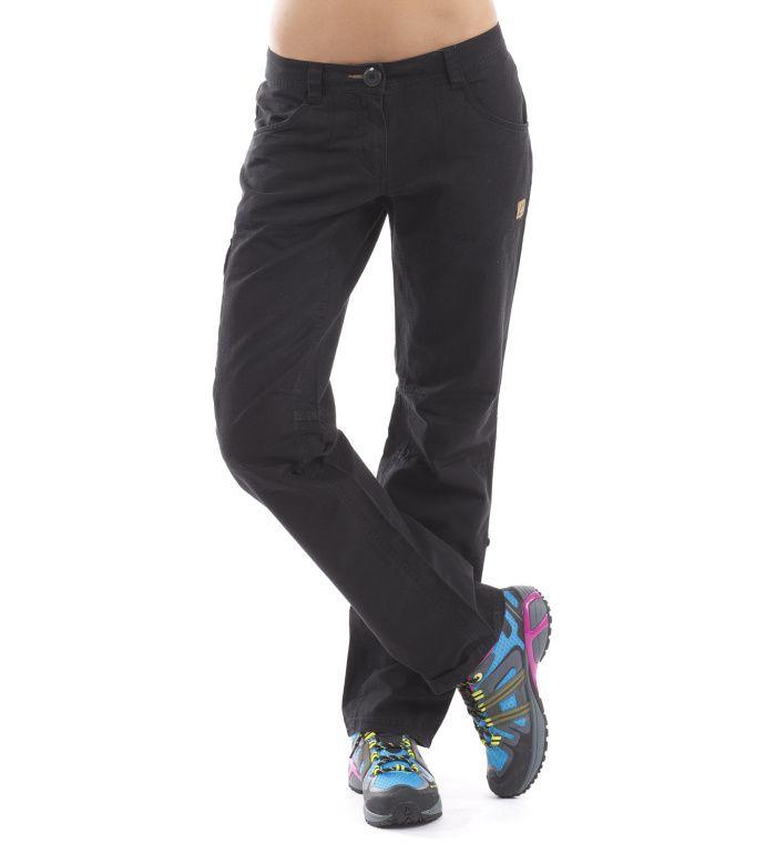 ALPINE PRO PIZ BOE Dámské softshell kalhoty LPAC009990 černá 48