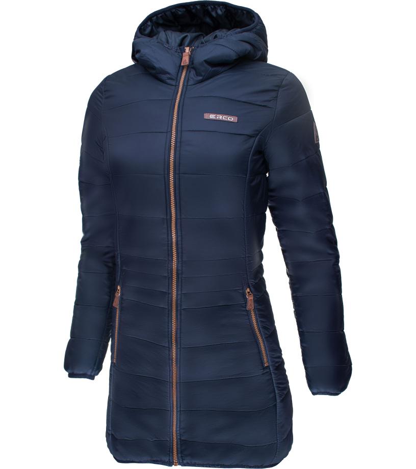 ERCO KAIRA Dámský zimní kabát 17W2038DBL Tmavě modrá S
