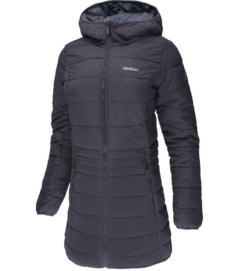 ERCO KAIRA Dámský zimní kabát 17W2038MEL Melange S