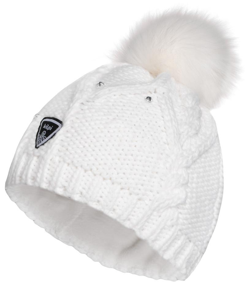 KILPI Zimní čepice LADY-W HL0115KIWHT Bílá UNI 07500e2dfc