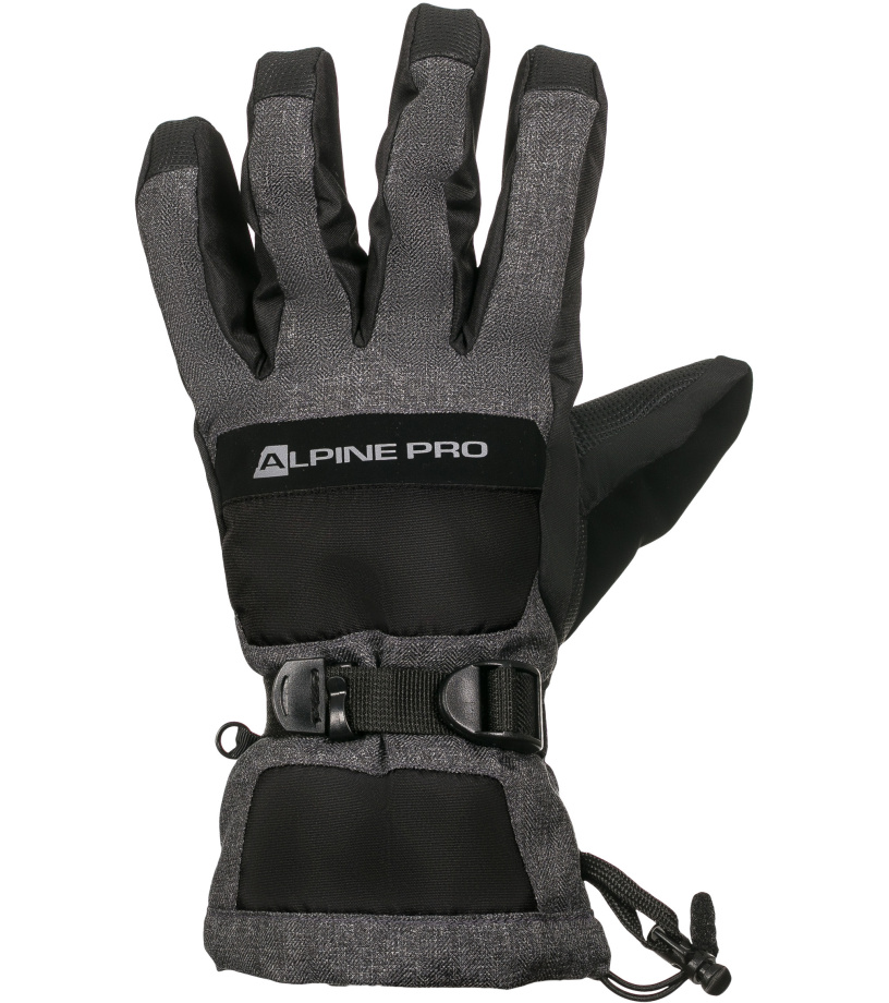 1a9ece016fc ALPINE PRO NUSSE Pánské rukavice MGLK015990 černá