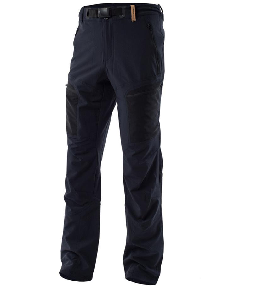 NORTHFINDER DUGLAS Pánské outdoorové kalhoty NO-32862OR270 černá XXL