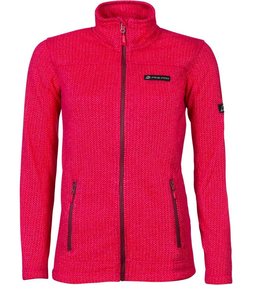 ALPINE PRO ENEASA 3 Dámský svetr LPLL026450 virtual pink