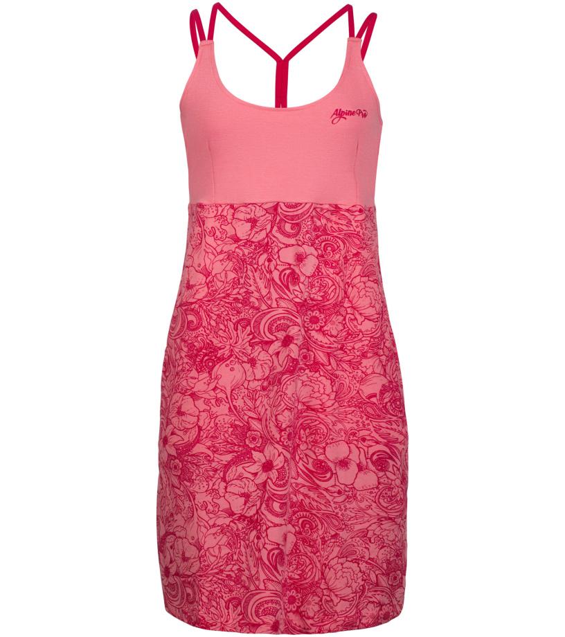 ALPINE PRO PERENA 2 Dámská šaty LSKL096819PD růžová M