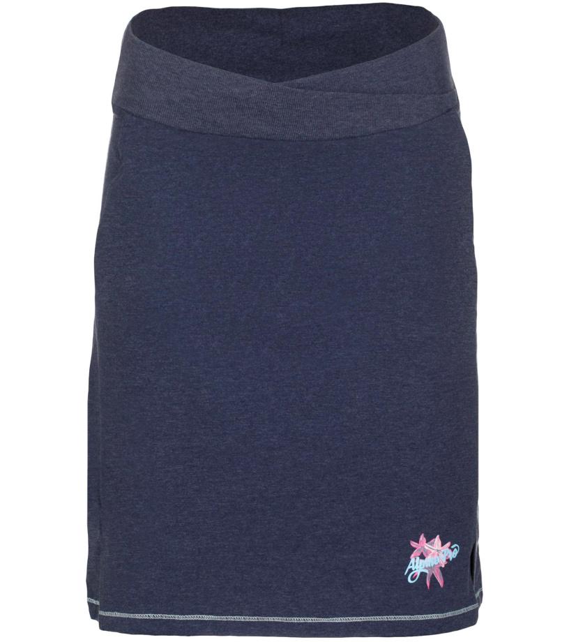 ALPINE PRO MANIQUA 2 Dámská sukně LSKL097602PB mood indigo