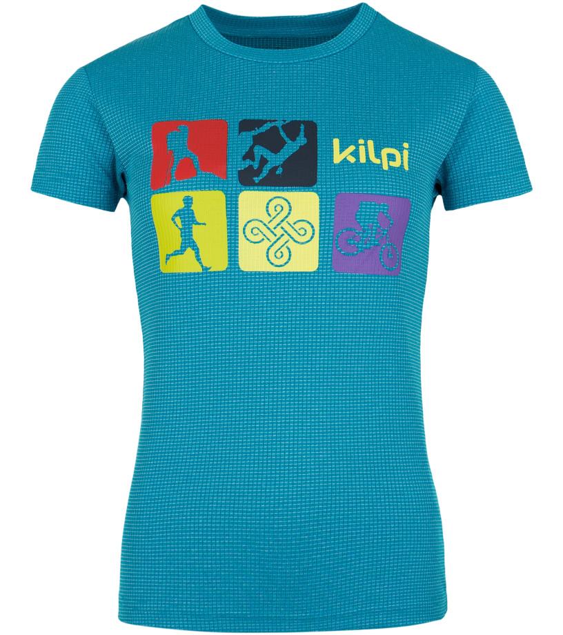 KILPI Dámské triko SANDORA-W GL0047KIBLU Modrá 42